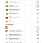 $50 Shopping list and Menus for Feb 14-27th